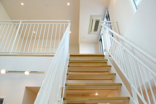 二階がリビングの部屋