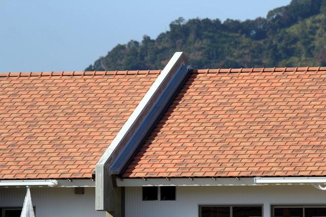 防火対策をしている屋根